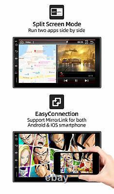 Android 10 Car Radio Stereo double din Head Unit GPS Sat Nav DAB+ Bluetooth USB