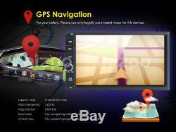 Android 8.0 Double 2Din Car Stereo Radio GPS Navi Wifi 4G DAB 4GB RAM 32G+Camera