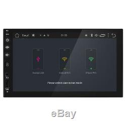Android 8.1 Car stereo GPS NO-DVD player 7 Tablet Double 2DIN Radio WiFi+Camera