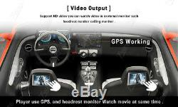 Android 9.0 7 HD Double 2 DIN Car Radio Stereo GPS Navigation For Apple CarPlay
