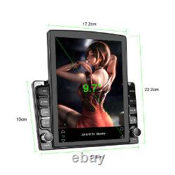 Android 9.0 Car Stereo GPS Radio Player Double Din WIFI 9.7 Head Unit + Camera