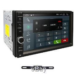 Android 9.0 Double 2Din Car Stereo Radio GPS Navi Wifi 4G DAB 2GB RAM 16G+Camera