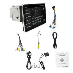 Android 9.110.1'' Touch Screen Car Stereo Radio GPS Wifi Double 2DIN Rotatable