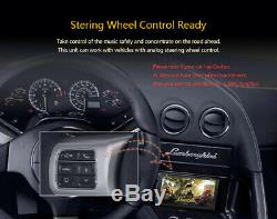Android GPS Double Din Car Stereo Radio DVD mp3 Player Bluetooth with Map+Camera