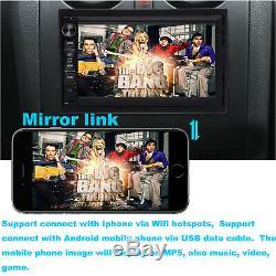 Android GPS Estereo De Pantalla Para Coche Carro MP5 Radio USB Mirrorlink+CáMara