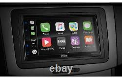 BOSS Audio BVCP9685A Double 2-DIN Car Apple CarPlay Android Auto Bluetooth Radio