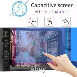 Backup Camera 7inch Android 8.1 Double 2Din Car Radio Stereo Player WiFi AUX GPS