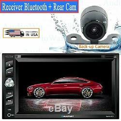 Blaupunkt Car Audio Double Din 6.2 Touchscreen DVD Bluetooth + Rear Camera New