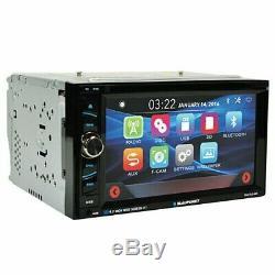 Blaupunkt Car Audio Double Din 6.2 Touchscreen DVD Bluetooth + Rear Camera XV95
