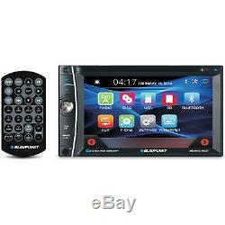 Blaupunkt Car Audio Double Din 6.2 Touchscreen LCD DVD CD Mp3 Bluetooth Stereo