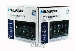 Blaupunkt Double Din Car Stereo 6.9 DVD CD Touch Screen Radio Mirror Link + cam