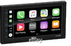 Boss 6.75 Touchscreen Double Din Car Stereo Receiver Apple CarPlay Android Auto