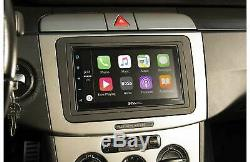 Boss Apple CarPlay Android Auto Double 2 DIN Bluetooth In-Dash Car Stereo Play