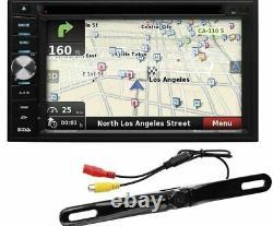 Boss BN965BLC Double Din Car 6.5 DVD/Bluetooth Player Navigation Backup Camera