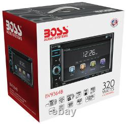 Boss BV9364B 6.2 Double DIN In-Dash DVD/MP3 Bluetooth Touchscreen Car Receiver