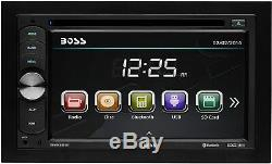 Boss BVB9351RC Double Din Car DVD/CD/USB/Bluetooth Receiver 6.2 WithBackup Camera
