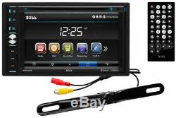 Boss BVB9358RC Double DIN In-Dash Car Stereo Receiver with 6.2 Screen and Camera