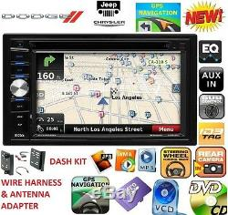 CHRYSLER JEEP DODGE DVD CD USB BLUETOOTH GPS Navigation SYSTEM CAR Radio Stereo