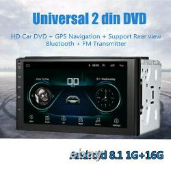 Car Double Din Radio Stereo Android Head 7 Touch Screen Stereo GPS Navigation