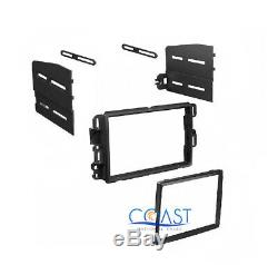 Car Radio Stereo Double Din Dash Kit Onstar Bose Harness for GM Chevy Pontiac