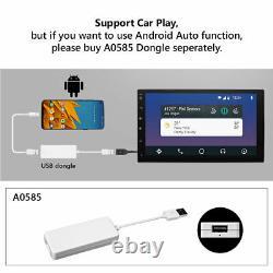 DVR+CAM+OBD+Double 2Din Android 10 7 1080P Car Stereo Radio GPS Wifi Quad-Core