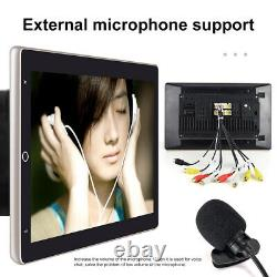 Double 2DIN Rotatable 10.1'' Android 9.1 Touch Screen Car Stereo Radio GPS Wifi