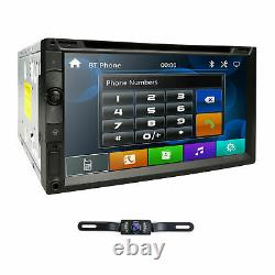 Double 2Din In Dash Sony CD Lens 7Car Stereo Radio DVD Player AUX BT TF MP3 Mic