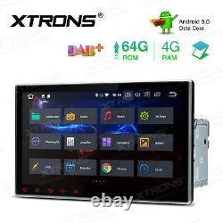 Double DIN 10.1 Android 9.0 8-Core 4+64GB Car DVD Player Radio Stereo GPS WIFI