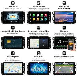 Double DIN 8 Android 10 2+32GB Car Stereo GPS Nav Radio WiFi for Chevrolet GMC