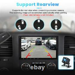 Double DIN 8 Android 10 2+32GB Car Stereo GPS Navi Radio WiFi for Chevrolet GMC