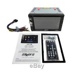 Double DIN Bluetooth USB Car Stereo+Backup Camera+02-05 Dodge Ram Radio Dash Kit