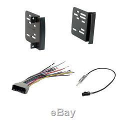 Double DIN Bluetooth USB Stereo+Backup Camera+09-12 Dodge Ram Car Radio Dash Kit