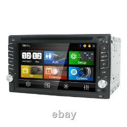 Double Din 6.2 Car Stereo Sat Nav GPS DVD Player Stereo Head Unit USB AUX SD MAP