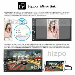 Double Din 7 Android 10 4GB RAM Car Stereo Radio GPS 4G WIFI OBD2 Multimedia BT