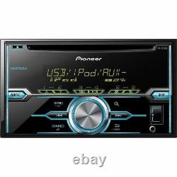Double-Din CD Player with Mixtrax Pioneer Two Pairs 6.5 + 6x9 Car Speakers