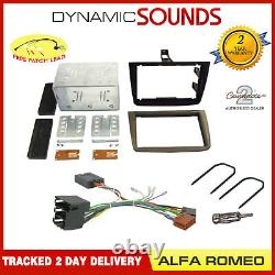 Double Din Car CD Stereo Fascia Fitting Kit Stalk Steering For Alfa Romeo Mito