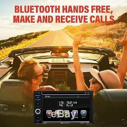 Double Din Car Stereo BOSS Audio USB SD AUX Bluetooth Radio Rear Camera