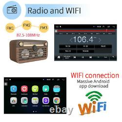 Double Din Car Stereo Radio 10.1 Inch Android GPS Car Audio Touch Screen FM USB