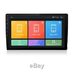 Double Din Touch Screen Car Stereo Android 8.1 10.1 HD 1080P In-dash Radio Unit