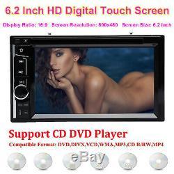 Estereo De Pantalla Para Coche Carro CD DVD MP3 MirrorLink para Fur Gps+Cámara