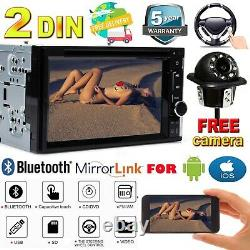 Fit FORD MERCURY TOUCHSCREEN Bluetooth CD DVD USB Car Radio Stereo Double 2Din