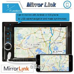 Fit Mercedes-Benz Touch Screen Bluetooth Car Radio Stereo 6.2'' 2Din DVD Player