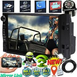 For 2005-2015 Scion tC xA xB xD Car Stereo 2 Din Aux-in Android Radio GPS+Camera