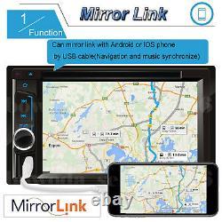 For Chevrolet GMC Touch Screen Car Radio Stereo Head Unit + Rear Backup Camera