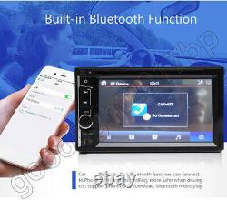 For Chevy Silverado 1500 6.2 2 DIN Car Stereo Radio DVD Player Bluetooth+Camera