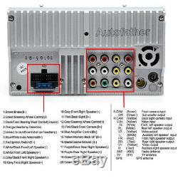 For Dodge Ram 1500 2500 3500 2002-2009 Car Stereo 2Din FM AM Radio Subwoofer USA
