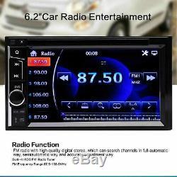 For Dodge Ram 1500 2500 3500 6.2'' 2Din CD DVD Player Car Radio Stereo Bluetooth