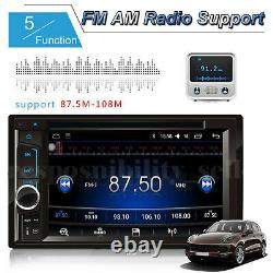 For Ford Double 2Din 6.2'' Car Stereo Radio Head Unit Player + Backup Camera