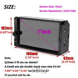 For Ford Expedition Explorer Mustang Car Stereo 2Din Mirror Link USB Radio FM/AM