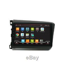 For Honda Civic 2012 Android 10.0 GPS Car Radio Stereo Navi DAB BT OBD AUX 9IPS